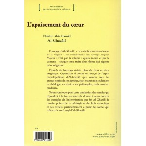 L'apaisement du cœur - De la Jalousie à la Méditation - (Revivification des sciences de la religion) - Abou Hamid Al-Ghazalî